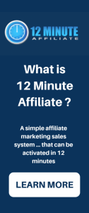 My 12 Minute Affiliate System Review
